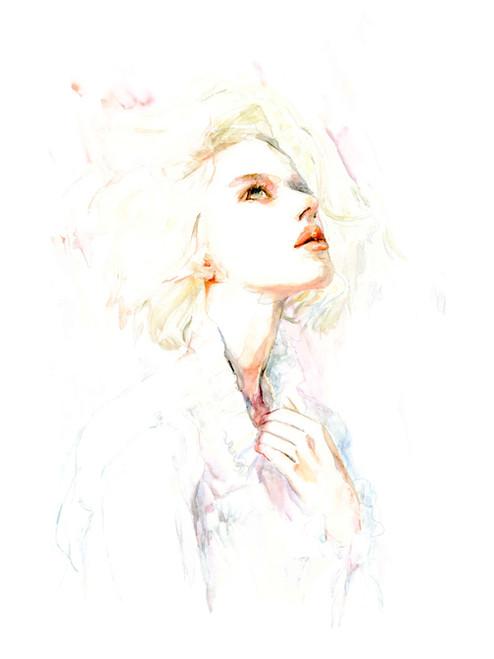 """""""Sheri"""" Fine Art Print by JENEM"""