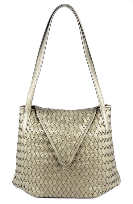 Madison Shopper Silver Pearl