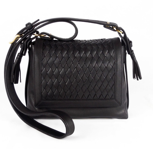 Bleecker Flap Tassel Black