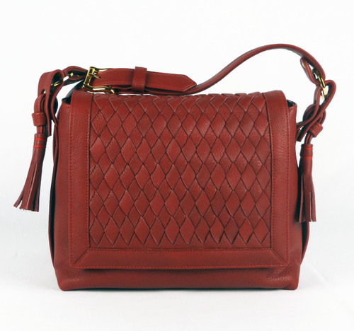 Bleecker Flap Tassel Red