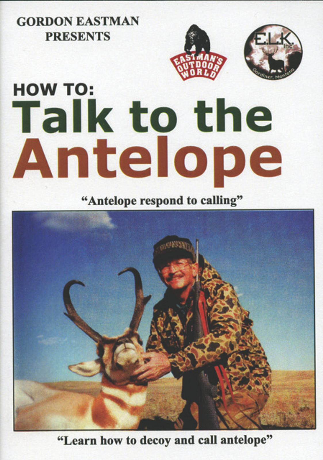 HOW TO TALK TO THE ANTELOPE DVD