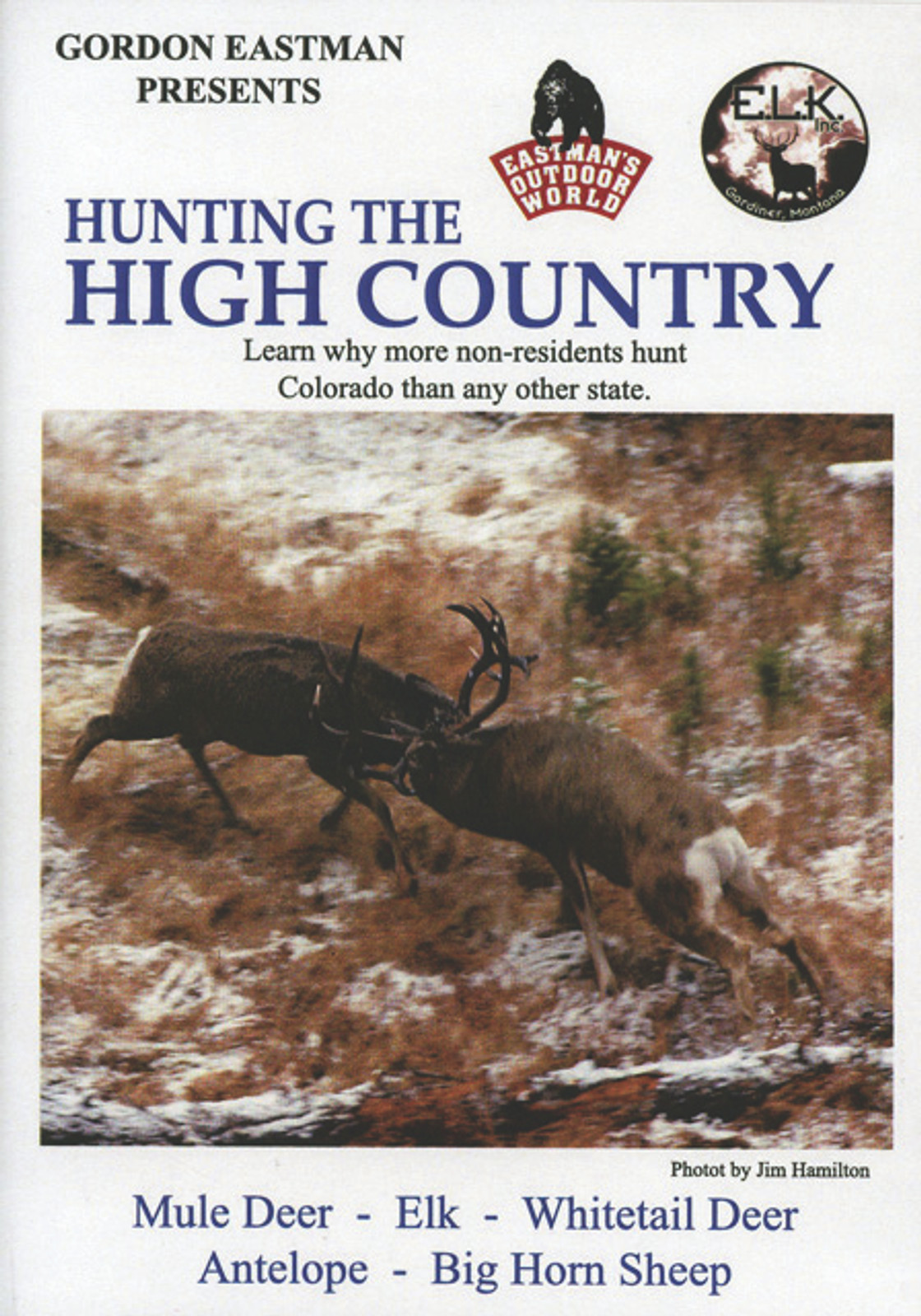 HUNTING THE HIGH COUNTRY DVD