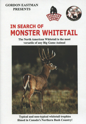 IN SEARCH OF MONSTER WHITETAIL DVD