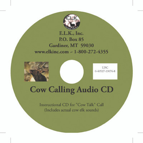 COW CALLING INSTRUCTIONAL CD