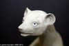 Original sculpture of Animated weasel or ferret puppet for movie and film shots
