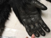 wear and tear as of 10/19/16 on inside of hand-gloves. (now repaired 3-8-17)