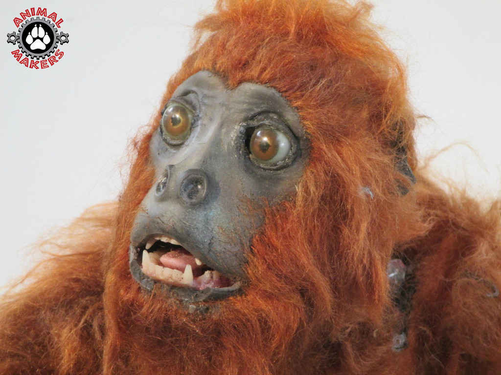 Brazilian red howler monkey puppet