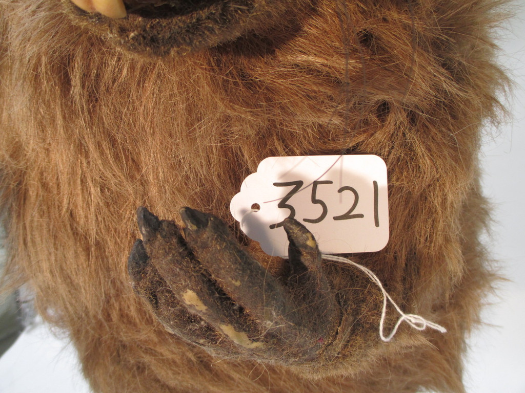 Animatronic beaver puppet as is