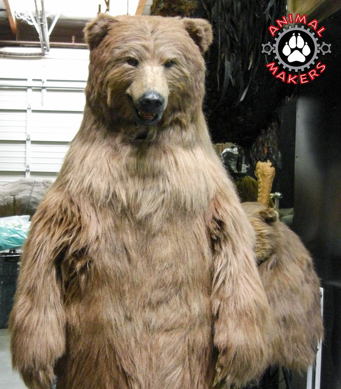 Realistic Professional Adult Bear Costume - Mama-3040