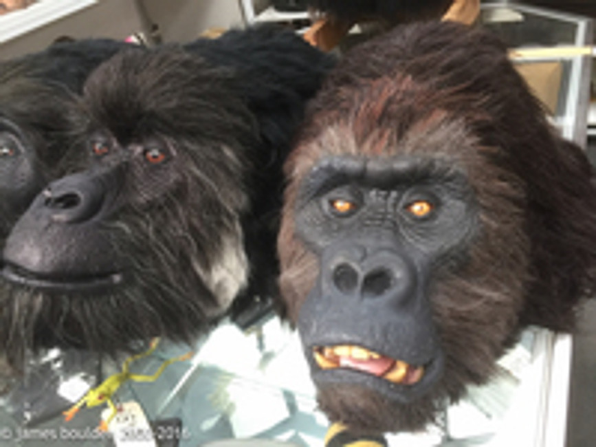 Gorilla Costume Heads
