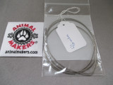 """1/16"""" Steel Cable- 46 inch Length"""