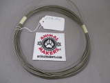 """1/16"""" Coated Steel Cable- 27 ft., 2 in. Length"""