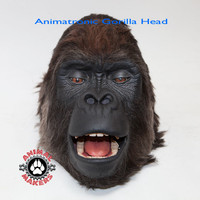 Gorilla Costume Head Animation