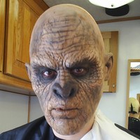 This is the plain Bigfoot make up applied without hair.