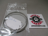 """1/16"""" Steel Cable- 6 ft., 8in. Length"""