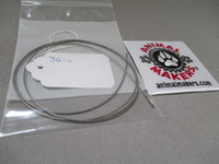 """1/16"""" Steel Cable- 36 in. Length"""