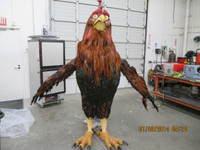 Adult Animated Rooster Character Costume