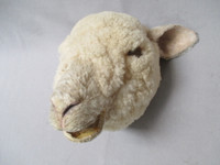 Animated Sheep Puppet foam face- Left Side View