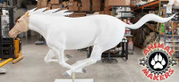 Freedom Mustang is sculpted and ready for fur application!