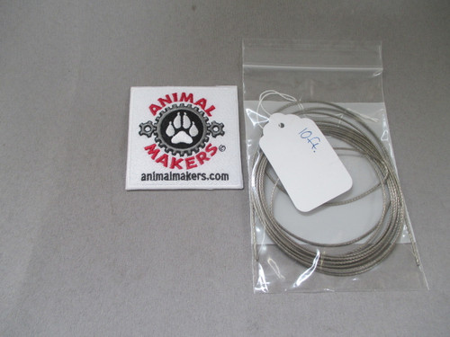 """1/16"""" Steel Cable- 10 ft. Length"""
