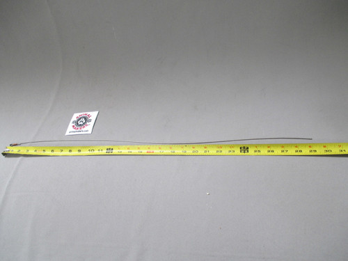 """1/16"""" Steel Cable- 29 inches single looped end"""