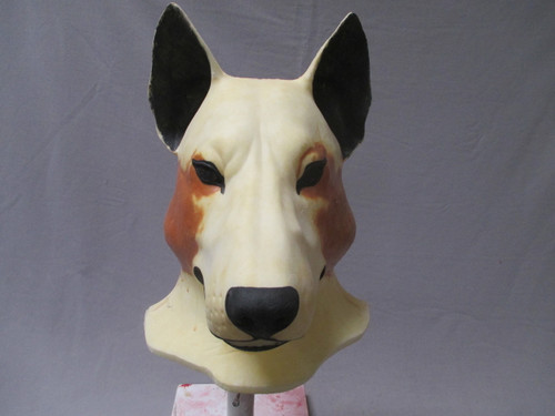 realistic animal mask by Animal Makers in the form of a wolf