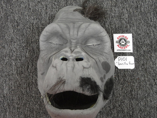 Unfinished Gorilla Ape Face for Do It Yourself