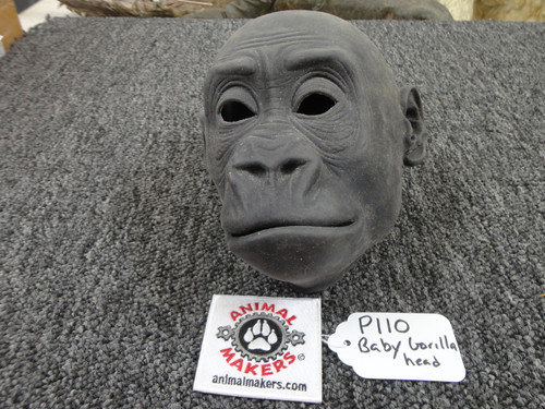 Unfinished Gorilla Face and Head Movie Prop