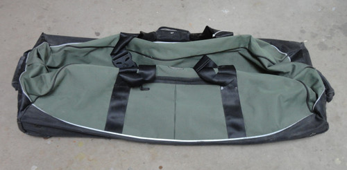 Extra Large Green Duffle Bag on Wheels