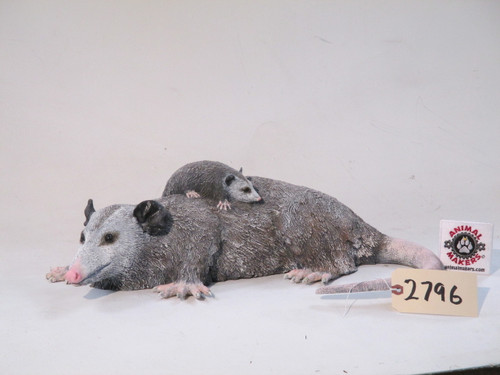 Mother and baby Opossum Props