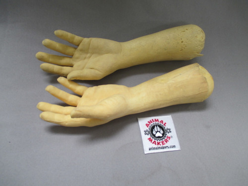 Realistic Human Hands- foam cast for durability