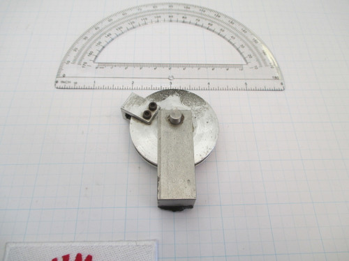 2 inch aluminum pulley with steel mount