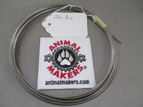 """1/16"""" Steel Cable- 17 ft., 8in. Length"""