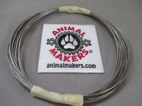 """1/16"""" Steel Cable- 20 ft.Length"""