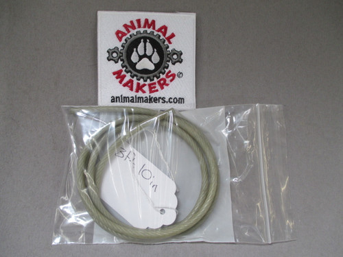 """3/16"""" Coated Steel Cable- 3 ft., 10 in. Length"""