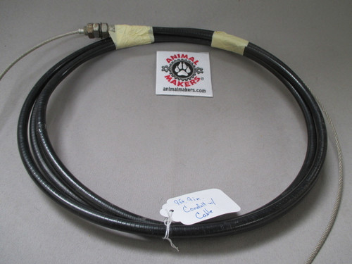 "1/8"" Steel Cable with Housing- 9ft., 9in. Length"