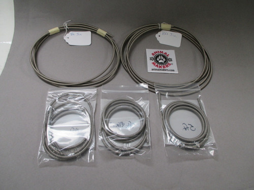 """Flexible Cable Housing for up to 1/16"""" cable- 5 piece Lot"""