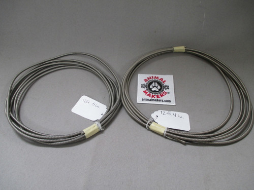 """Super Flexible Cable Housing for up to 1/16"""" cable- 2 piece Lot"""