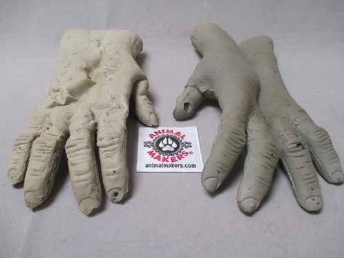 Foam Latex Gorilla Gloves- unfinished