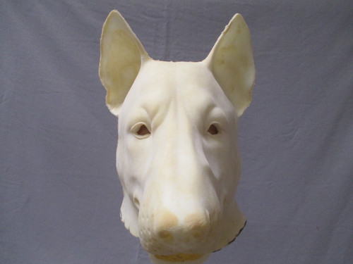 Whole Head Realistic Wolf Mask Unfinished
