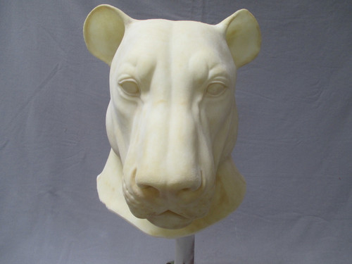 Whole Head Realistic Lion Mask unfinished