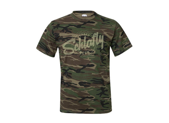 CAMO BOTTLECAP SHIRT
