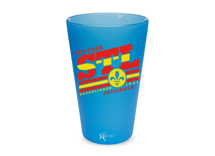 SILICONE BLUE BEND PINT