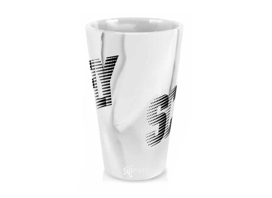 SILICONE MARBLE POINTILLIST PINT