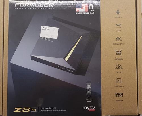 Formuler Z8 Pro