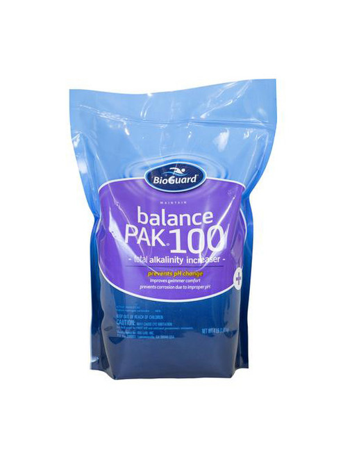 BioGuard - ALKALINITY TOTAL, Balance Pak 100 4LB