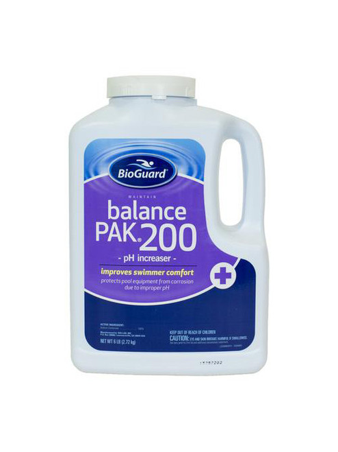 BioGuard - PH INCREASER, Balance Pak 200 6LB