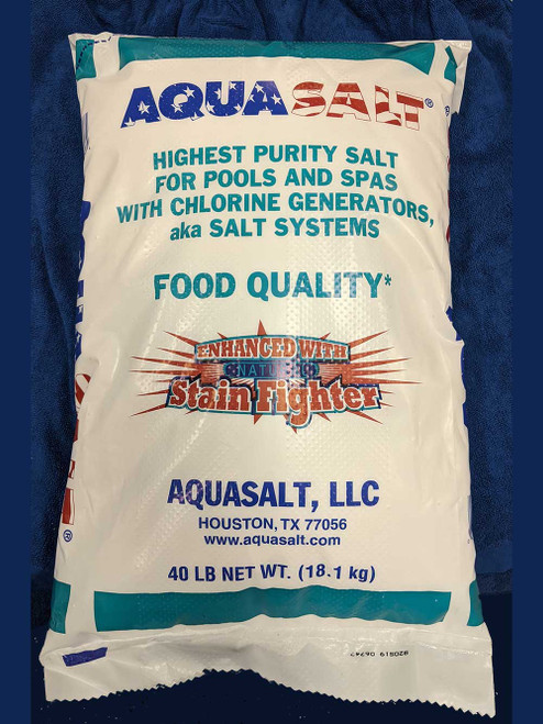 Salt 40LB - AquaSalt