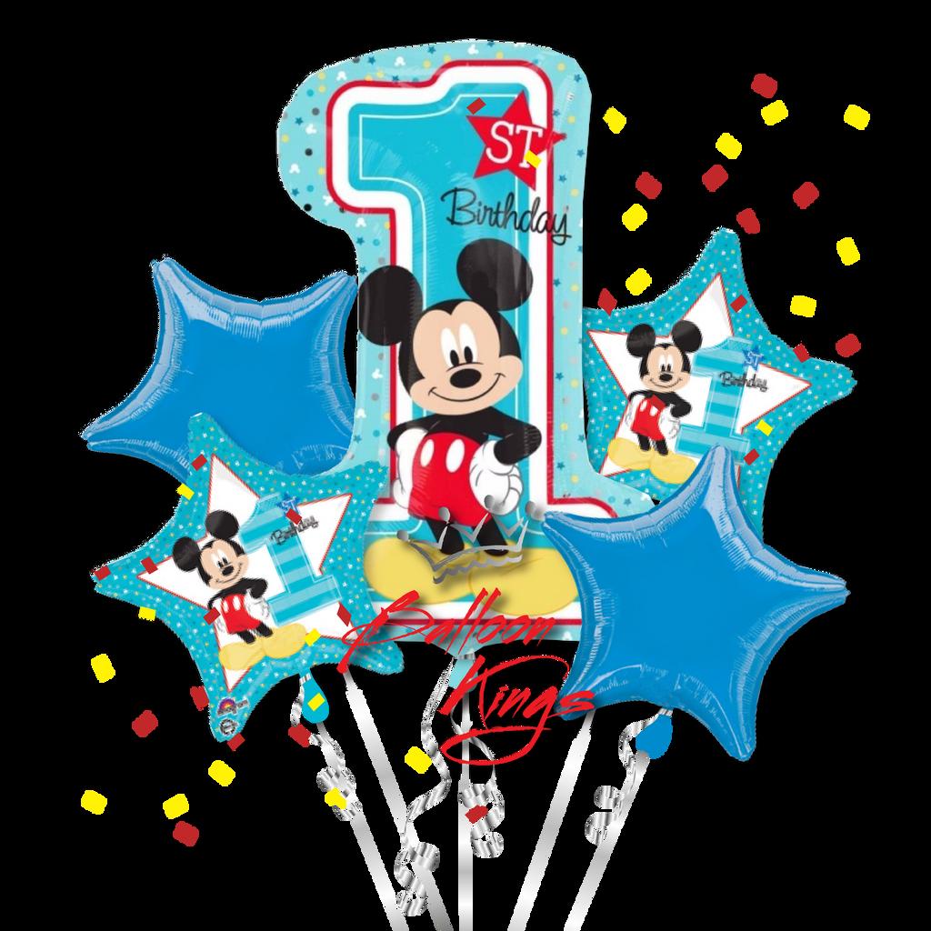 1st Birthday Mickey Bouquet