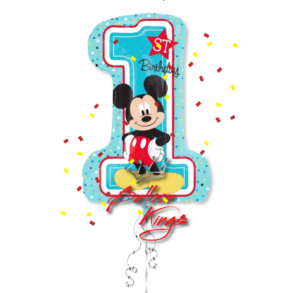 Mickey Number 1 Shape